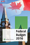 2016 Canadian Federal Budget Plan: CCH Special Report