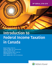 Introduction to Federal Income Taxation in Canada, 39th Edition, 2018-2019