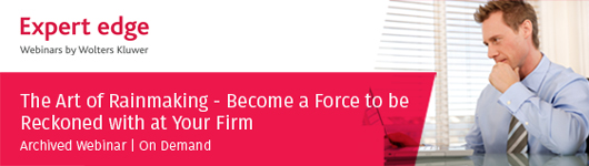 The Art of Rainmaking - Become a Force to be Reckoned with at Your Firm