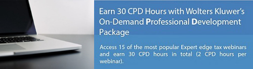 Wolters Kluwer On Demand Professional Development Package