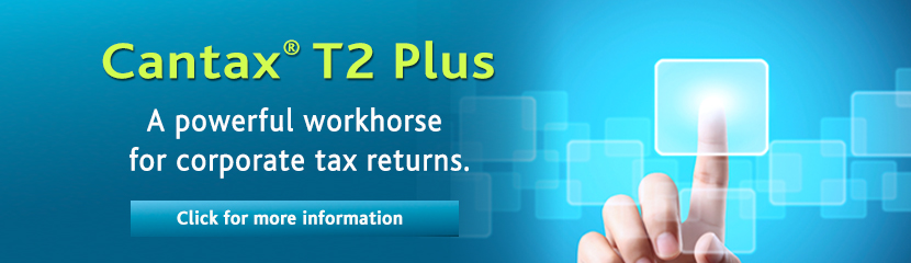 The go-to T2 tax software for Canadian professionals.