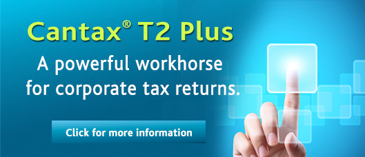 The go-to tax software for Canadian professionals.