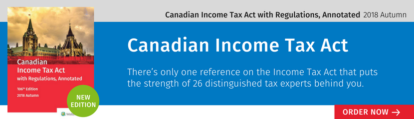 Canadian Income Tax Act